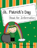 St. Patrick's Day Read for Information