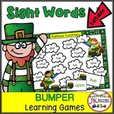 St. Patrick's Day Sight Word Games: Leprechaun Bumper Word Games