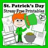 St. Patrick's Day Stress-Free Printables - Second Grade Co