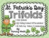 St. Patrick's Day Trifolds