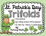St. Patrick's Day Trifolds