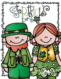 St. Patrick's Day Unit-Reading, Writing, & Word Work!