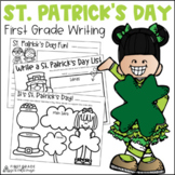 St. Patrick's Day Writing for Firsties