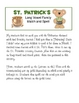 St. Patrick's Long Vowel Family Match and Spell