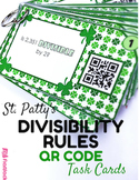 St. Patty's Divisibility Rules QR Code Fun - FREE