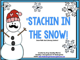 Stachin' Through The Snow!  A Common Core Winter Center Pack!