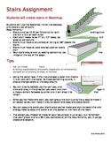 Stairs Assignment - Intro to SketchUp