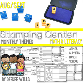 Stamp it!  August and September