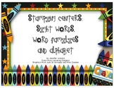 Stamping Words and Letters Center Set