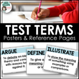 Test Prep -  Test Key Word Posters