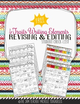 Standards Based 6-Traits Writing Elements (revising/editing)