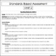 Standards Based Assessments: 4th Grade Math *ALL STANDARDS