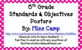 Standards & Objectives Posters