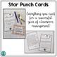 Star Punch Cards (Positive Behavior Incentive Program)