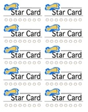Star Punch Cards
