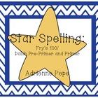 Star Spelling: Sight Word Practice