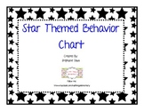 Star Themed Behavior Chart Discipline System