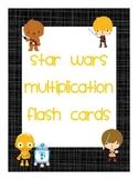 Star Wars Multiplication Flash Cards