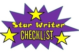 Star Writer Checklist!!!!