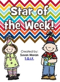 Star of the Week! Classroom booklet