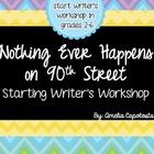 Starting Writer's Workshop Freebie