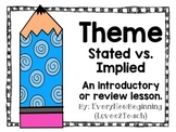 Stated vs. Implied Theme Activity