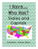 States and Capitals I Have... Who Has...