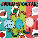 States of matter lapbook English-Spanish