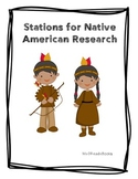 Stations for Native American Research