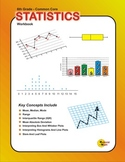 Statistics And Data Analysis Workbook