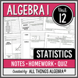 Algebra 1: Statistics (Unit 9) - Unit Bundle!