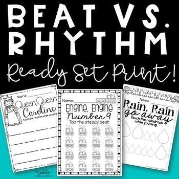 Steady Beat and Ta/ Ti-ti Worksheets