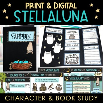 Stellaluna Character and Book Study