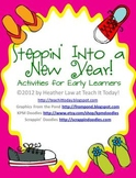 Steppin' Into a New Year! Activities for Early Learners