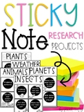 Sticky Note Research Projects