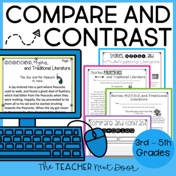 Compare and Contrast and More: Stories, Myths and Traditional Literature