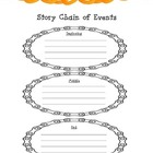 Story Chain of Events Graphic Organizer