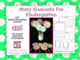 Story Elements for Kindergarten: Printables and Comprehens