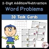 Word Problem Task Cards 2-Digit Addition/Subtraction