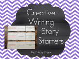 Creative Writing Story Starter Cards