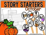 Story Starters October