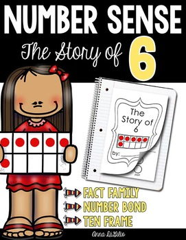 Story of 6 with Number Bonds and Ten Frames (Singapore Math)