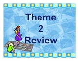 Storytown Theme 2 Power point Vocabulary Review-  Third Grade