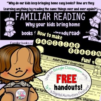 Reading Handout - free!