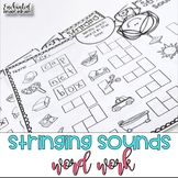 Stringing Sounds Word Work