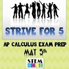 Strive For 5:AP Calc eBook (Free)