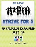 Calculus: Strive For 5-AP Calc eBook (Free)