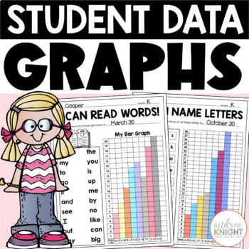 Student Data Graphs, Goal-Setting, and Self-Reflection Sheets {K-2}