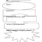 Student Goal Setting Worksheet - Free