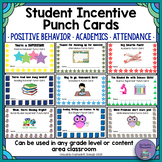 Student Rewards Punch Cards